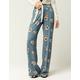IVY & MAIN Floral Womens Wide Leg Pants