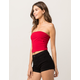 BOZZOLO Red Womens Tube Top