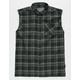 BROOKLYN CLOTH Cutoff Mens Flannel Shirt