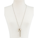 FULL TILT Love/Feather/Crystal Long Necklace