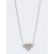 FULL TILT Diamond Heart Necklace