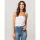 BOZZOLO White Womens Tube Top