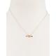 FULL TILT Circle Arrow Necklace