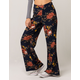 SKY AND SPARROW Floral Womens Wide Leg Pants