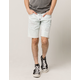 RSQ London Skinny Rip And Mend Mens Denim Shorts