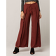 SKY AND SPARROW Raw Wrap Womens Wide Leg Pants
