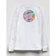 SANTA CRUZ Tie Dye Logo Girls Tee
