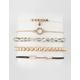 FULL TILT 5 Pack Arrow & Diamond Bracelets