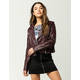 CI SONO Moto Womens Faux Leather Jacket