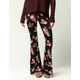 IVY & MAIN Vintage Rose Womens Flare Pants