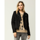 IVY & MAIN Faux Suede Womens Moto Jacket
