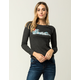 BILLABONG To The Limit Womens Thermal Top