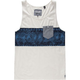 BILLABONG Garage Collection Banded Mens Tank