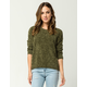 OTHERS FOLLOW Chenille Womens Sweater
