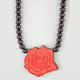 GOODWOOD NYC Love Rose Pendant Necklace