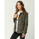 SKY AND SPARROW Distressed Womens Anorak Jacket