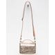 VIOLET RAY Peyton Metallic Wallet Crossbody Bag