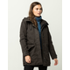 RVCA Ground Control Womens Sherpa Jacket