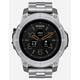 NIXON Mission SS Silver & Black Watch