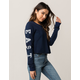 FULL TILT East Coast Womens Crop Sweatshirt