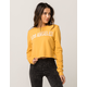 FULL TILT Los Angeles Womens Crop Sweatshirt