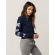 FULL TILT West Coast Womens Crop Sweatshirt