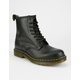 DR. MARTENS 1460 Black Smooth Mens Boots