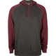 INDEPENDENT TRADING CO Mens Raglan Hoodie
