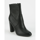 DELICIOUS Womens Heeled Boots