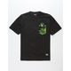 GRIZZLY x MARVEL Hulk Mens Pocket Tee