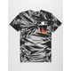 GRIZZLY x MARVEL Rider Flame Mens Pocket Tee
