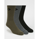CONVERSE 3 Pack Mens Crew Socks