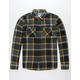 REEF Ice Dip II Mens Flannel Shirt