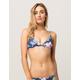 DAMSEL Floral Triangle Bikini Top