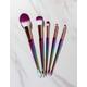 5 Pack Mermaid Makeup Brush Set