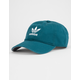 ADIDAS Originals Relaxed Teal Blue & White Mens Strapback