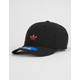 ADIDAS Originals Relaxed Modern II Black Mens Strapback Hat