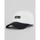ADIDAS Originals Decon II Black & White Mens Strapback Hat