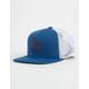 RVCA VA All The Way Blue Boys Trucker Hat