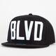 BLVD Block Mens Snapback Hat