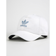 ADIDAS Originals Relaxed White & Chalk Blue Womens Dad Hat