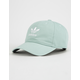 ADIDAS Originals Relaxed Green And White Womens Strapback Hat