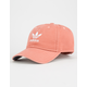 ADIDAS Originals Relaxed Trace Scarlet & White Womens Strapback Hat