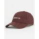 ADIDAS Originals Relaxed Plus Burgundy & White Womens Strapback Hat