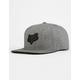 Fox Legacy Mens Snapback Hat