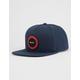 RVCA Radius Navy Mens Snapback Hat