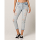 RSQ Button Up Womens Ripped Mom Jeans
