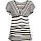 FULL TILT Stripe Womens Top