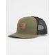 RVCA All The Way Olive Mens Trucker Hat