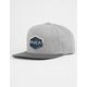 RVCA Commonwealth III Grey Mens Snapback Hat